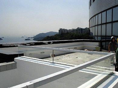 Ground floor Rooftop - east side